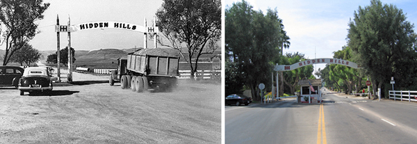 1950 - Hidden Hills Gate and Truck
